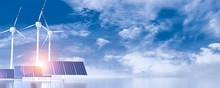 Wind Turbine And Solar Panels ...