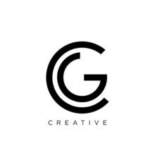 Cg Or Gc Logo Design Vector Icon