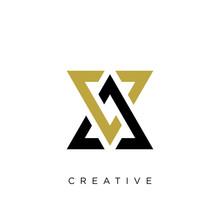 Av Or Va Logo Design Vector Icon
