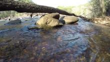 Water Rushing Through River Stream 2.7K