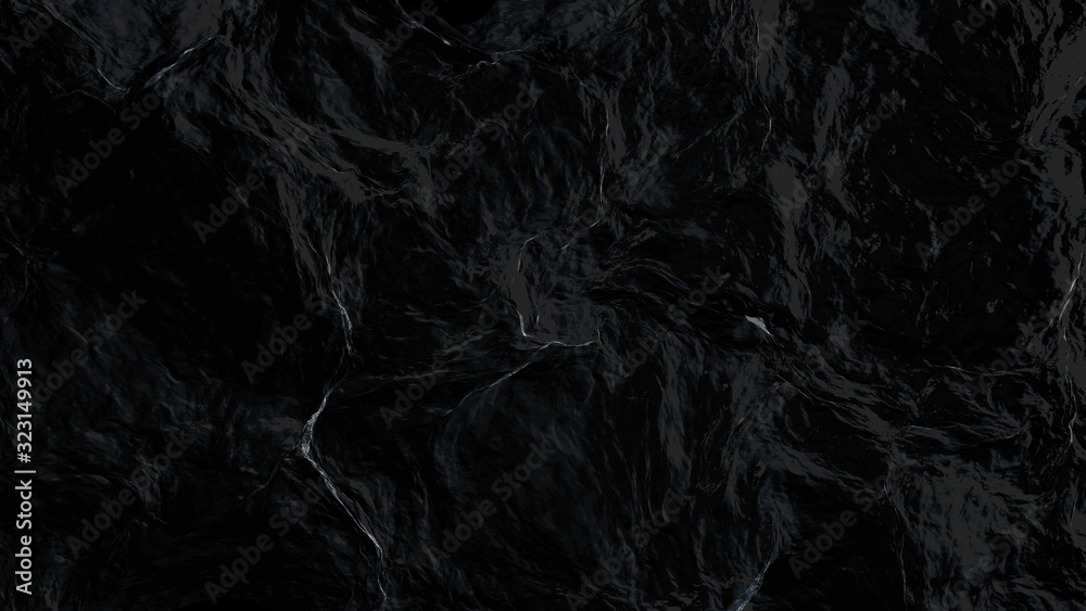Fototapeta Abstract sea surface aerial view, 3d rendering process, 4k Ultra HD 3840x2160.