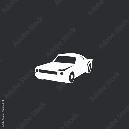 Fototapeta car logo vector illustration obraz na płótnie
