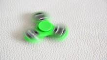 Green Spinner In Motion
