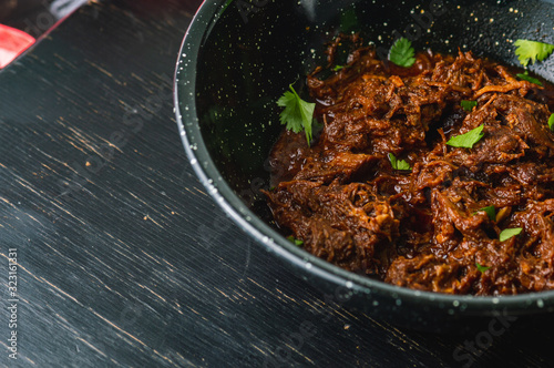 Mexican Beef Barbacoa Stew, Traditional Mexican Food Canvas-taulu