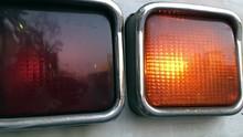Closeup Shot Of Flashing Car R...