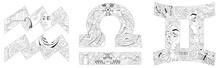Air Signs Zodiac Libra, Gemini...