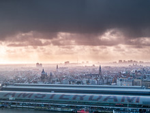 Amsterdam Topview To City Cent...