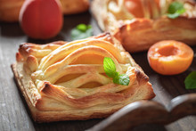 Freshly Baked Puff Pastry Made...