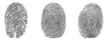 Set Of Vector Fingerprint Icon...