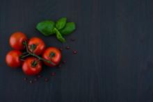 Fresh Grape Tomatoes With Pepp...