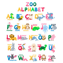 Zoo Alphabet Animal Letters Wi...