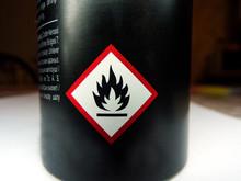 Flammable Emblem On The Balloo...