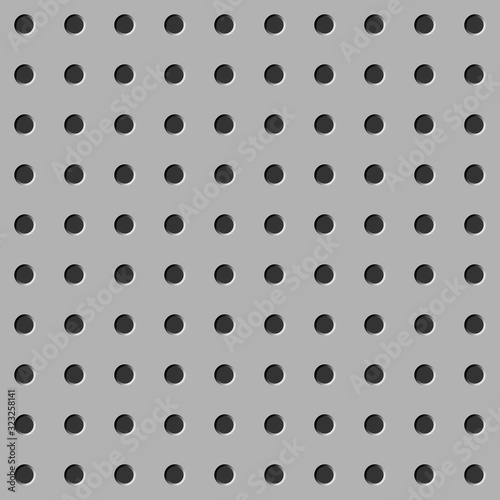 Fotografering Peg board seamless pattern texture
