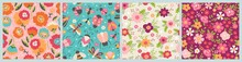 Seamless Pattern For Spring Se...