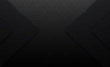3d Vector Black And Line Squar...