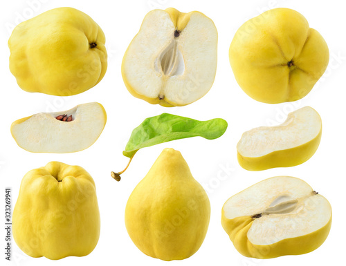 Fotografie, Obraz Isolated quince fruits