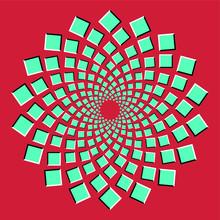Optical Art Infinity Tunnel Ba...