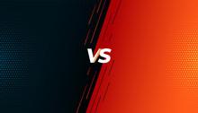 Versus Vs Fight Battle Screen ...