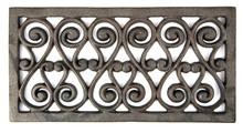 Iron Decoration On White Backg...