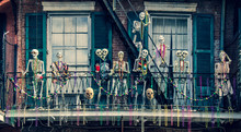 New Orleans Street Skeletons