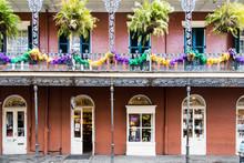 New Orleans Mardi Gras Streets