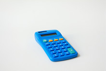 Calculator Isolated On White B...