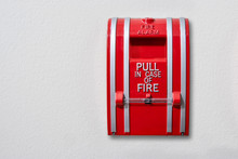 Wall-mounted Fire Alarm Pull S...