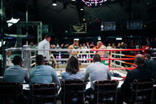 Judge At The Box Match