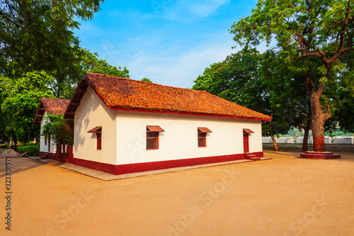 Photo Sabarmati Gandhi Ashram in Ahmedabad