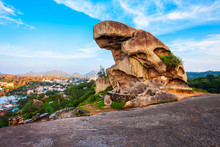 Toad Rock In Mount Abu, India