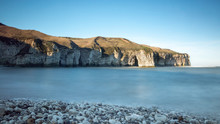 Flamborough Cliffs At North Landing