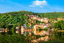 Bundi Town Panoramic View, India