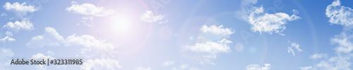 Obraz パノラマの青空002 - fototapety do salonu