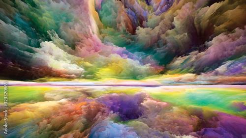 Obraz Propagation of Land and Sky - fototapety do salonu