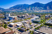 Downtown Provo Utah East View 2