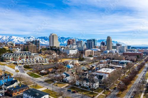 Salt Lake City Marmalade Skyline February 2020