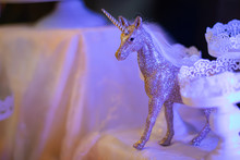 Diamond Unicorn Figurine For Party Decoration