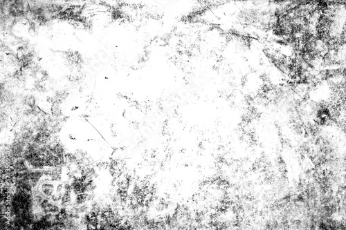 Abstract texture dust particle and dust grain on white background Canvas