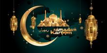 Ramadan Kareem Gold Islamic Ca...