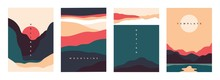 Landscape Minimal Poster. Abst...