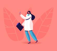 Female Doctor Endocrinologist ...