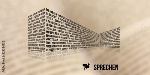 Sprechen Wallpaper Mural