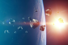 Debris In Earth Orbit, Dangero...