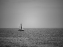 Boat On The Atlantic Ocean