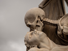 The Kiss Of Death Sculpture