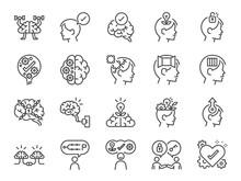 Mindset Icon Set. Included Ico...