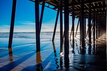 Wooden Pier Pismo Beach Pacific Coast California