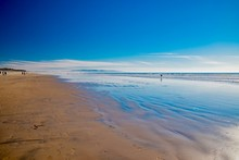 Town Of Pismo Beach On The Pacific Coast Of California