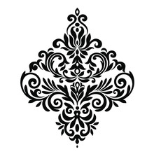 Oriental Vector Damask Pattern...