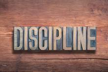 Discipline Word Wood